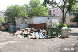 Место под застройку Коли Мяготина 111а Курган, помойка, мусорка