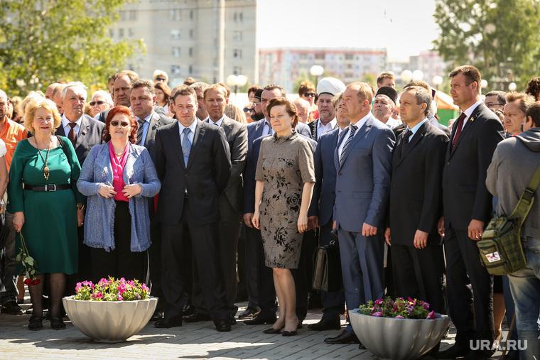 Открытие памятника Владимиру Петухову, Нефтеюганск