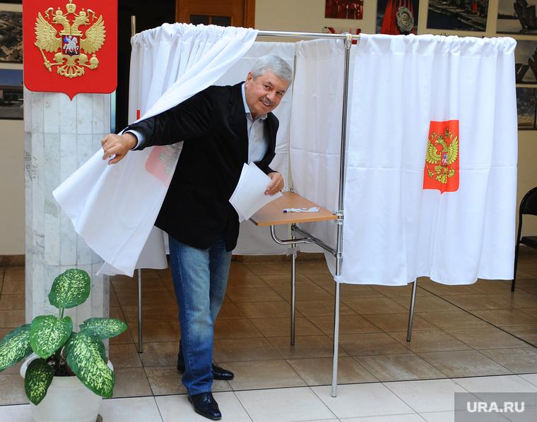 Мякуш. Челябинск, кабинка для голосования, мякуш владимир