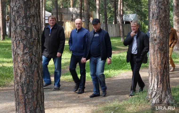 Клипарт. Челябинск. Парк Гагарина, давыдов сергей , лопаткин игорь
