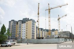 Строительная площадка стадиона к ЧМ по футболу 2018 года. Волгоград, жилой дом, новостройка