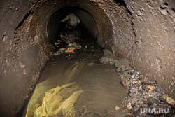 Подземное русло реки Основинка. Екатеринбург, подземная река