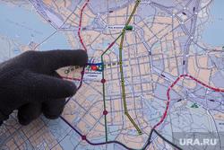 План застройки города в районе Центрального стадиона к 2018 году. Екатеринбург, карта, схема застройки