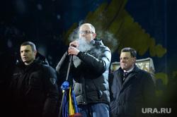 Евромайдан. Киев (Украина), тягнибок олег, кличко виталий, яценюк арсений