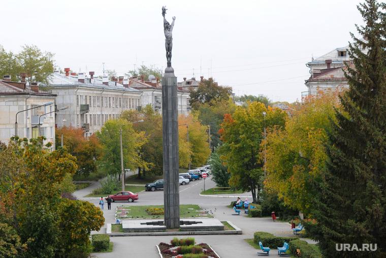 Озерск. Челябинская область., стела, озерск