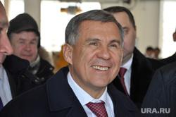 Президент Татарстана Рустам Минниханов на ЗАО