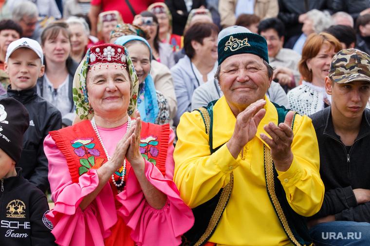 Сабантуй и Куйвашев. Екатеринбург, народные костюмы, татары