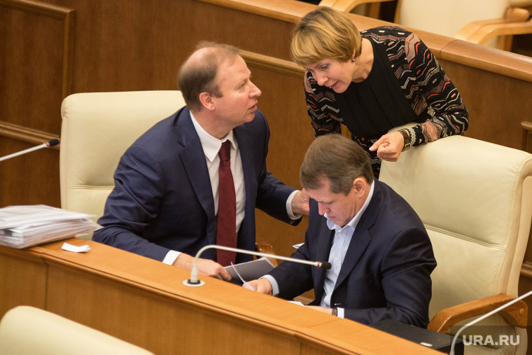 Заседание Законодательного Собрания с губернатором СО. Екатеринбург, шептий виктор, чечунова елена, исаков олег
