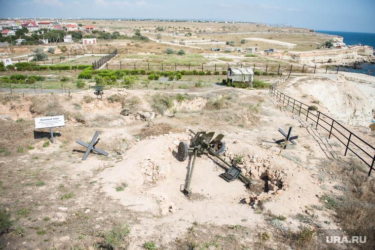 Крым., севастополь, поле битвы, окопы, линия обороны, мемориал 35 береговая батарея