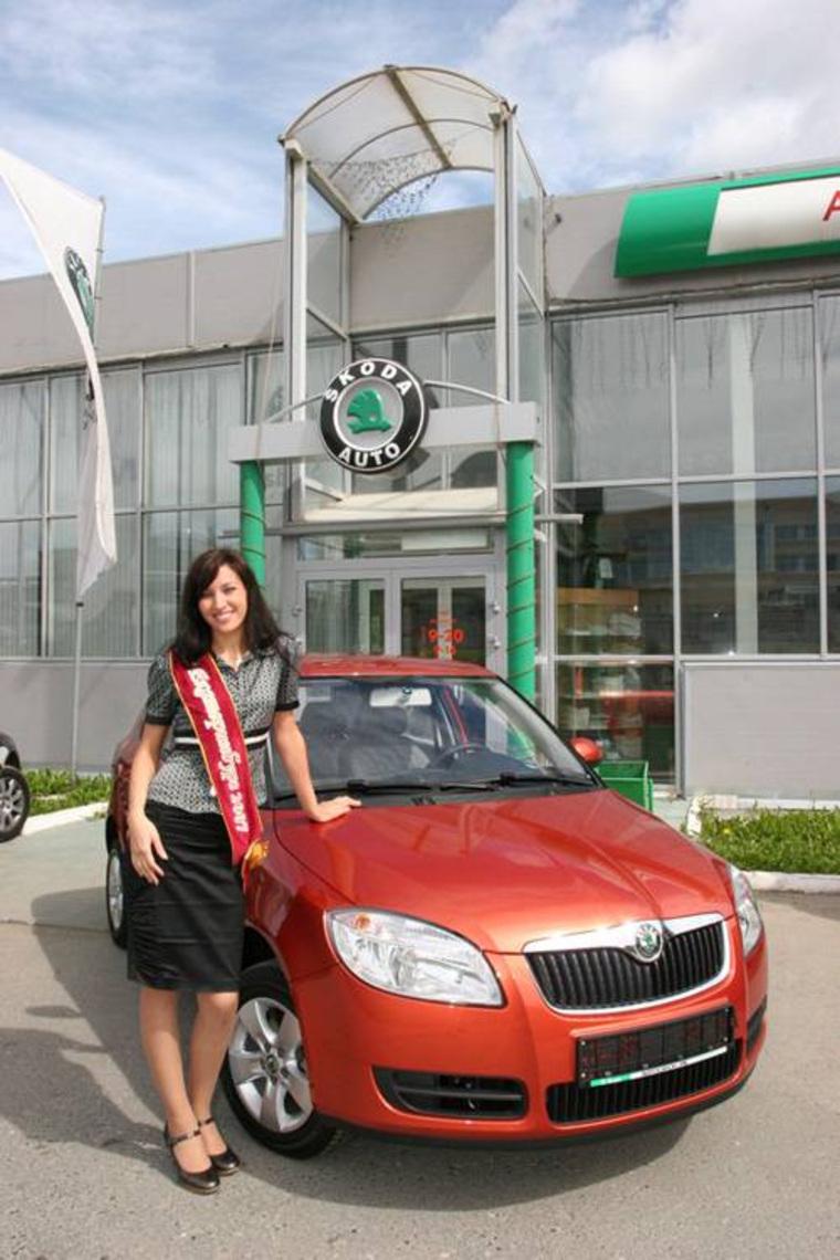 Мисс Екатеринбург все годы, Анна Семенова  2007