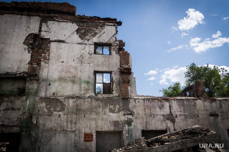 «Металлургмаш». Магнитогорск, развалины дома, разруха, металлургмаш