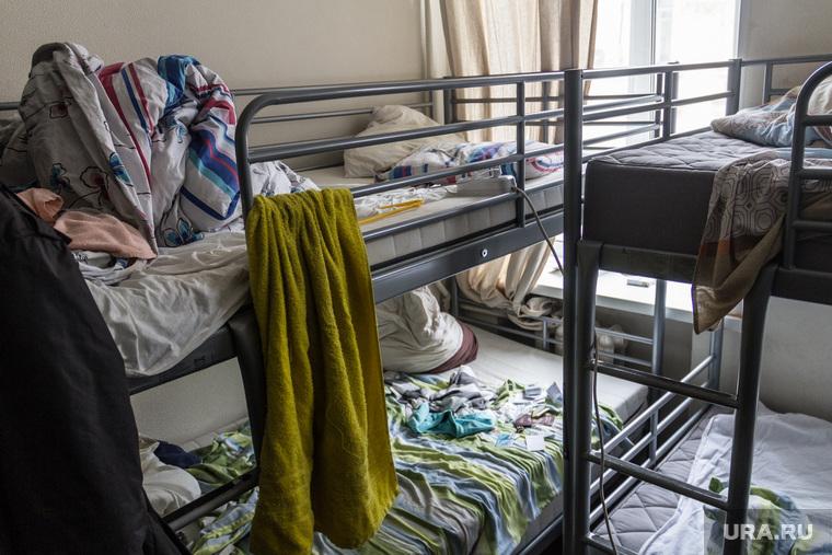 Клипарт. Москва, койки, общежитие, хостел, общага
