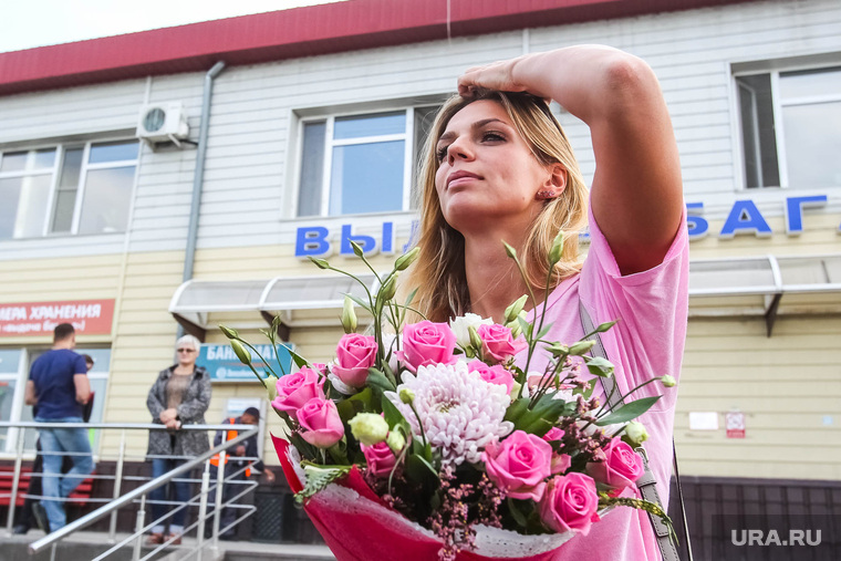 Юлия Ефимова, чемпионка мира по плаванию. Тюмень, ефимова юлия