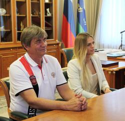 Юлия Ефимова, чемпионка мира по плаванию. Тюмень