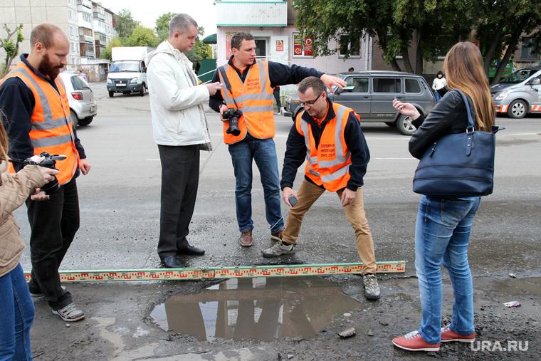 Дорожная инспекция ОНФ  Курган, улица карла маркса, дорожная инспекция онф