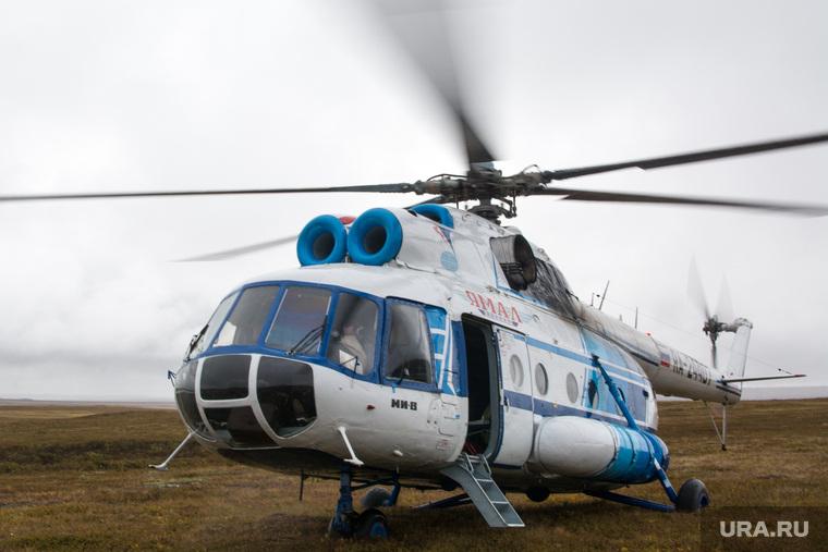 ЯНАО. Тундра + досрочные выборы, вертолет