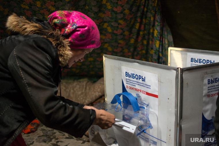ЯНАО. Тундра + досрочные выборы, чум, выборы, кмнс, ненцы