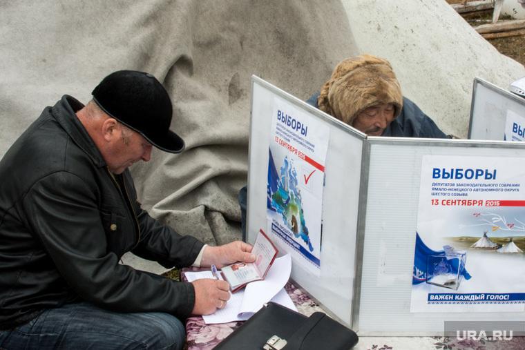 ЯНАО. Тундра + досрочные выборы, выборы, кмнс, ненцы