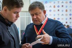 Алексей Чеканов и трамплины на горе