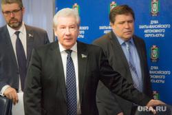 Брифинг о отмене выборов губернатора. Ханты-Мансийск., хохряков борис