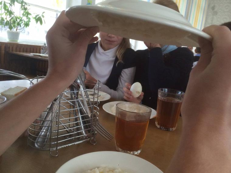 каша-липучка, каша липучка, школьная еда