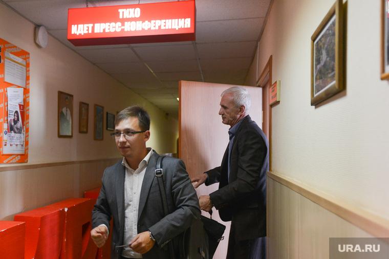 Пресс-конференция по Альфа-стоун. Челябинск., семенов андрей, резвушкин игорь