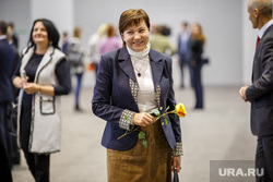 Заседание губернатора с главами МО и правительством в МВЦ Екатеринбург ЭКСПО, роза, улыбка, цветок, радость, кулаченко галина