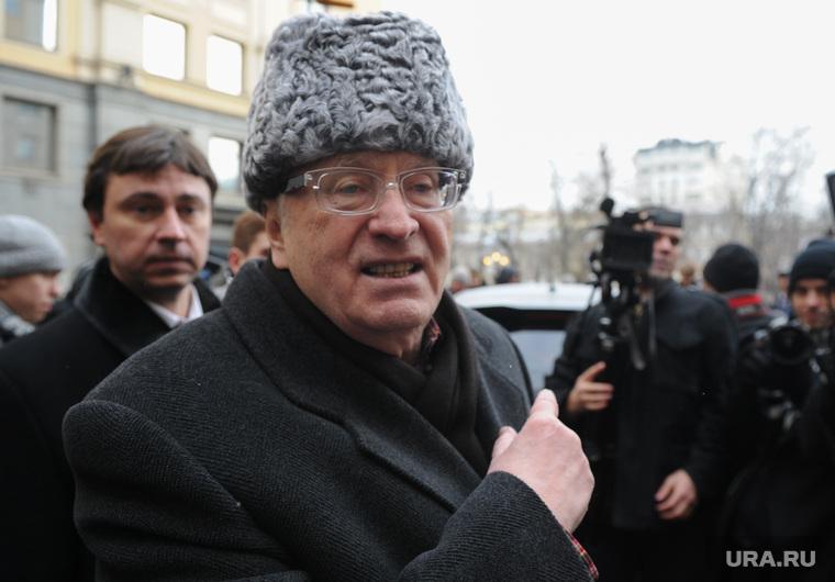 Вручение Ё-мобиля В.В.Жириновскому. Москва, портрет, жириновский владимир