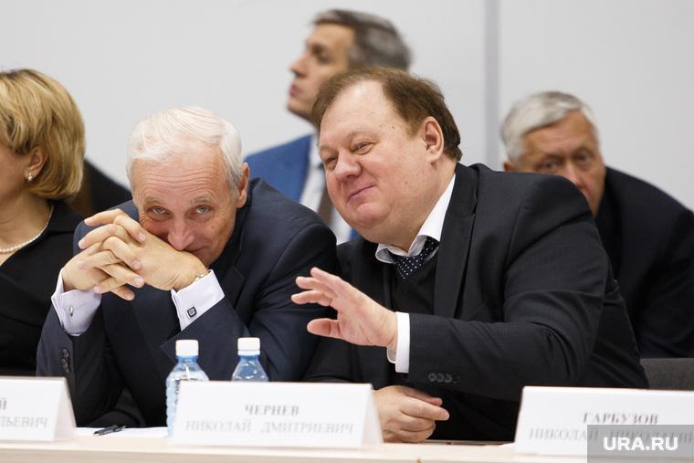 Заседание губернатора с главами МО и правительством в МВЦ Екатеринбург ЭКСПО, шингирей анатолий, чернев николай