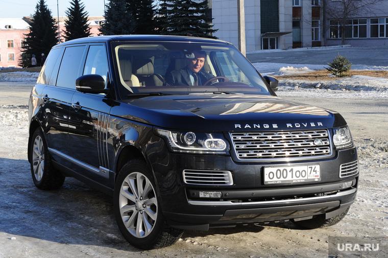 Дубровский на Златмаше. Челябинск., range rover, вип номер, рендж ровер