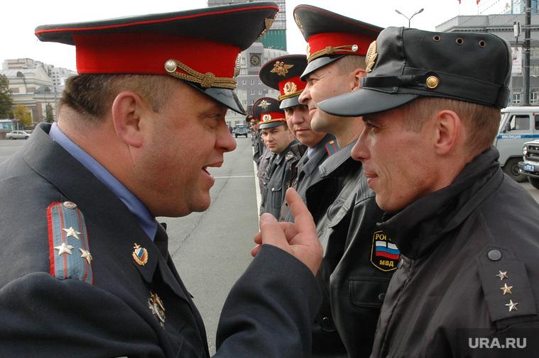 Милиция. Челябинск., полиция, милиция, полковник, укор, старший прапорщик