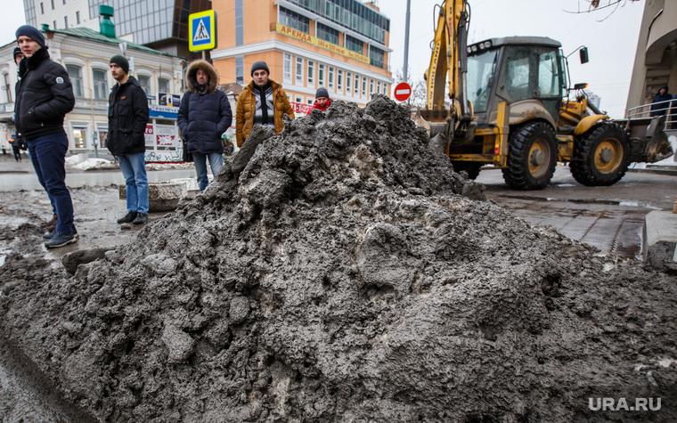 Грязь днем. Екатеринбург, грязь