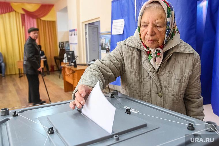 Выборы-2015. Тюмень, пенсионерка, выборы, бабушка, голосование