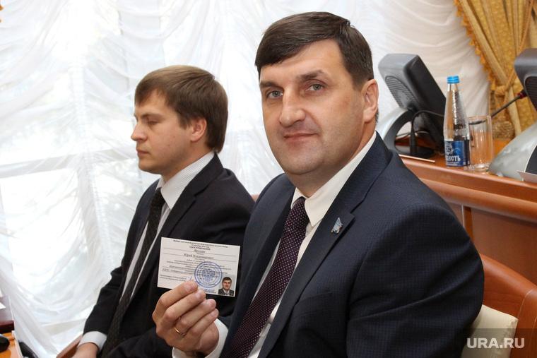 Вручение депутатских мандатов в облдуме Курган, ярушин юрий
