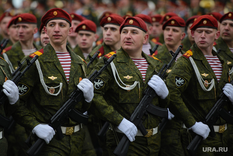 Парад Победы. Екатеринбург, внутренние войска, вв