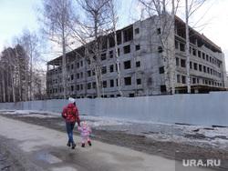 Верхняя Пышма Центральная городская больница , долгострой, детская поликлиника