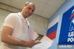 Предварительное голосование ЕР в Лицее им. Дягилева. Екатеринбург, паслер денис