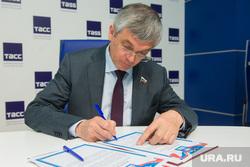 Пресс-конференция по праймериз ЕР в ТАСС. Екатеринбург, петров александр