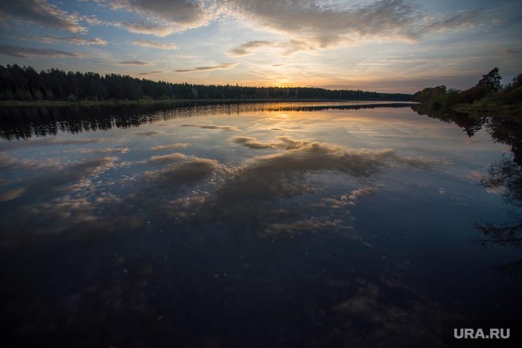 Верхотурье, Меркушино, Актай, Свято-Косминская пустынь., закат, пейзаж, отражение, природа, озеро, небо, актай, красота, вечер, туризм