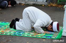 Курбан байрам. Челябинск., молитва, мусульмане, намаз, мулла, имам