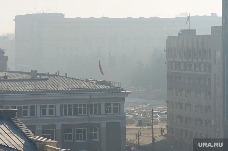 Экология. Выбросы. Дым. Челябинск., загрязнение, экология, смог, атмосфера, грязный воздух