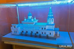 Храм иконы Нечаянная радость Челябинск, макет, храм иконы нечаянная радость