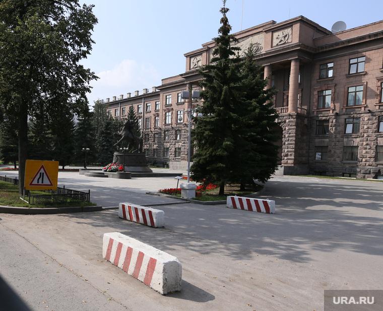 Обзорная экскурсия по Екатеринбургу, штаб военного округа, цво