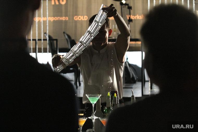 Вечеринка об ЭКСПО-2020 в Папарацци. Екатеринбург, бармен, шоу барменов