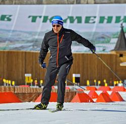 Губернатор Владимир Якушев на лыжах. Тюмень, якушев владимир