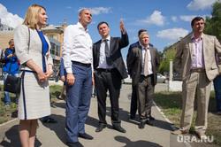 Выездное заседание правительства Свердловской области в Первоуральске, чечунова елена, дронов алексей, паслер денис