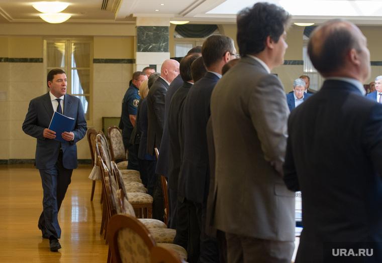 Заседание с главами городов СО в резиденции губернатора. Екатеринбург, куйвашев евгений