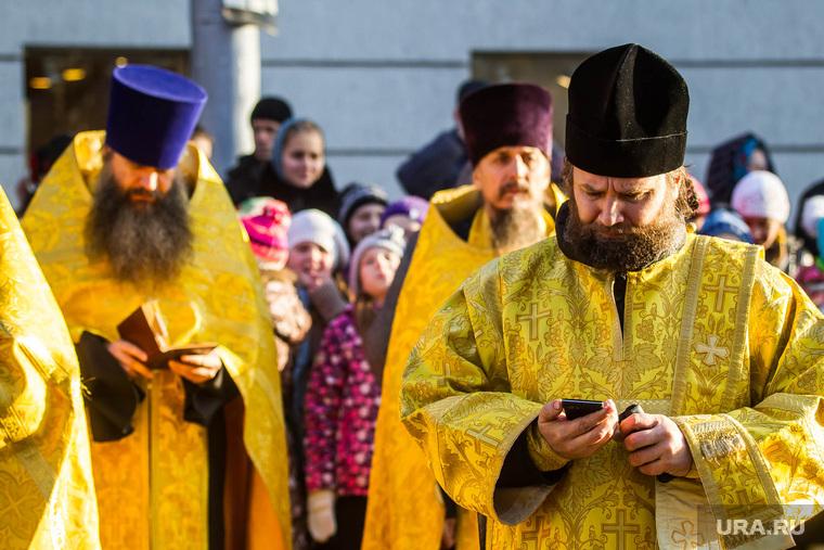 Мощи святого князя Владимира. Тюмень, священник, телефон