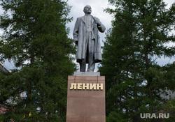 Североуральск, памятник ленину