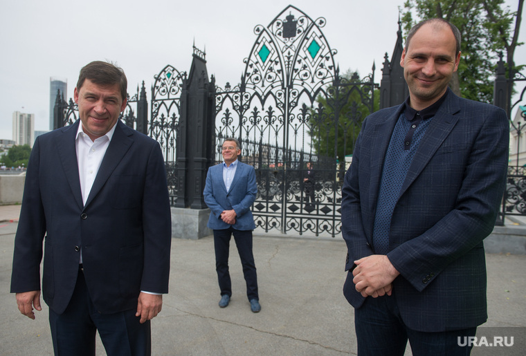 День России в Екатеринбурге, тунгусов владимир, куйвашев евгений, паслер денис